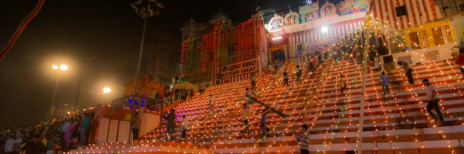 Dev Diwali at Kedar Ghat