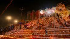 Dev Diwali at Kedar Ghat