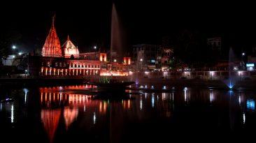 Durgakund at Night