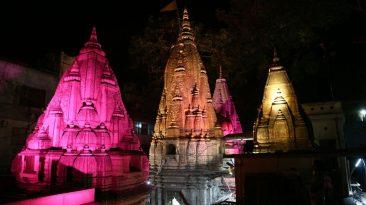 Shri Kashi Viswnath at Night