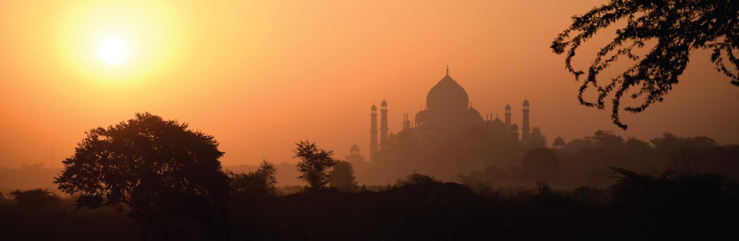 Taj Mahal at Agra