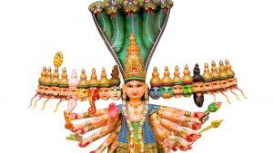 Wooden Vishvarupa Darshan