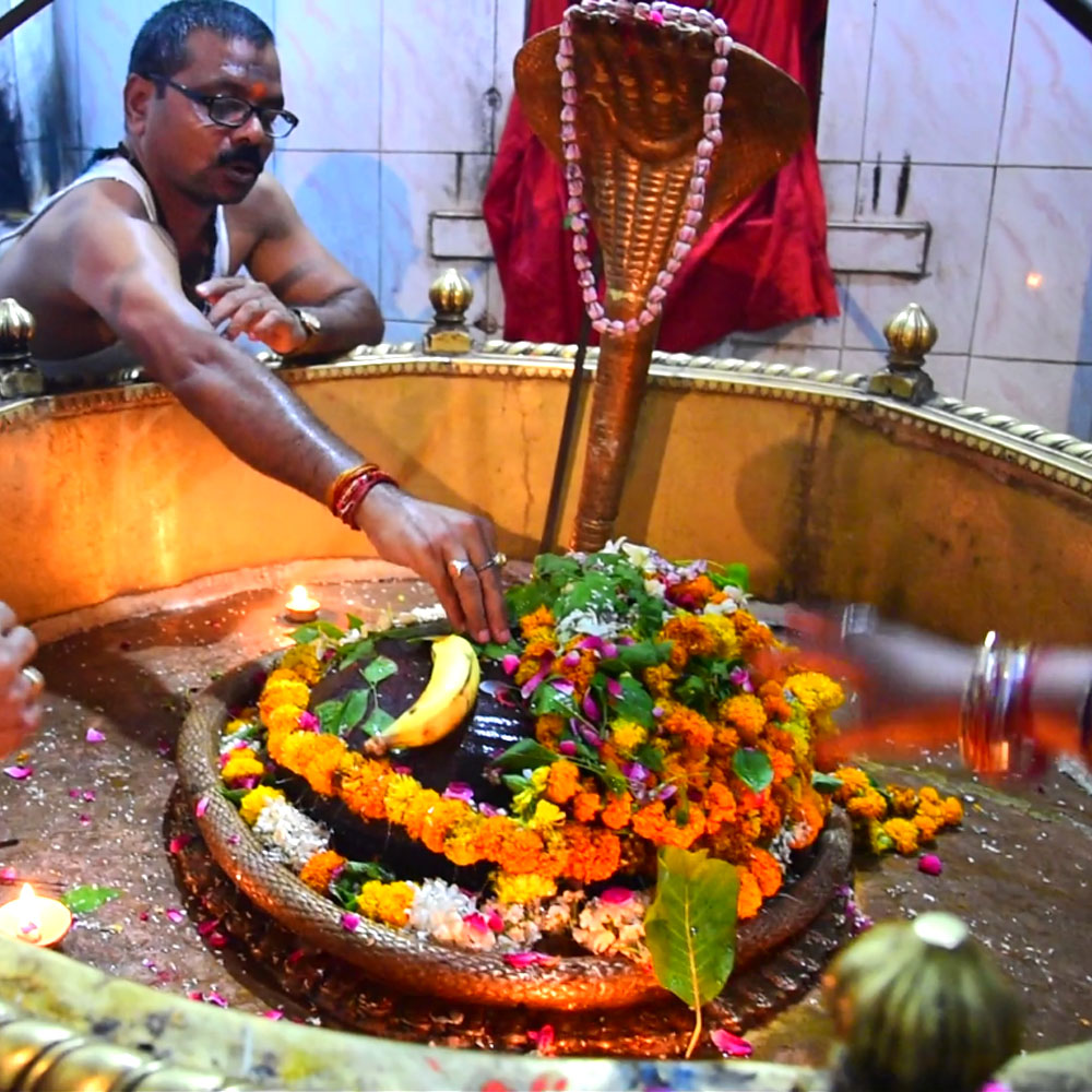 Shivalinga in the Temple
